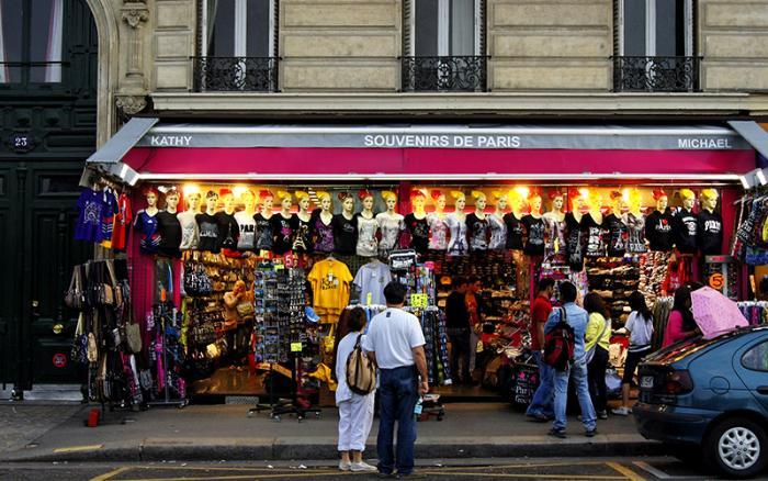 Какие сувениры привезти из Франции