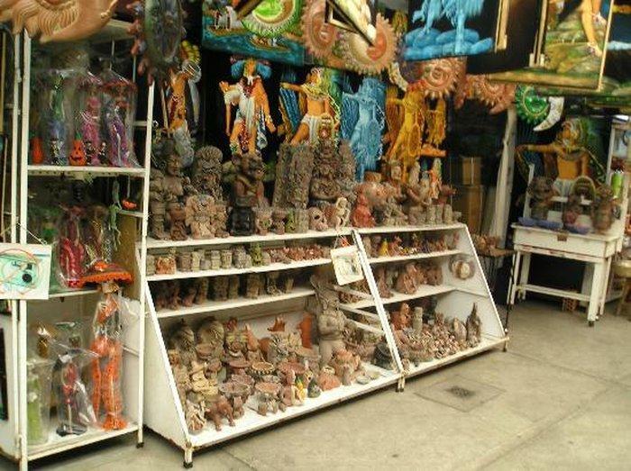 Рынок ремесел (Mercado de Artesanias)