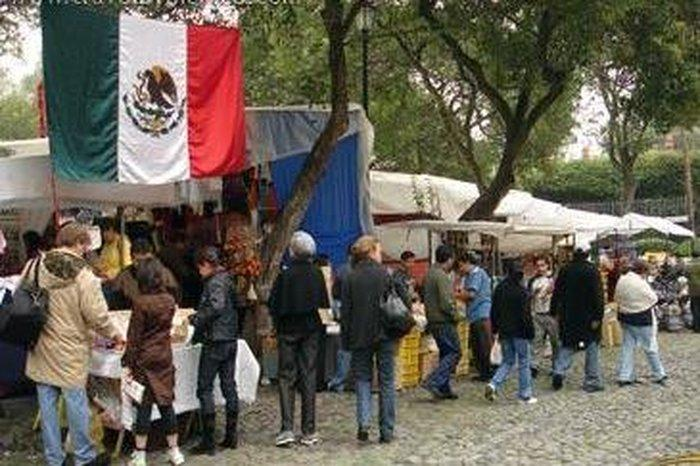 Мехико - рынок Сабадо (Bazar de Sábado)