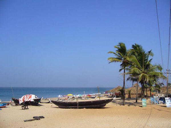 Пляж Варка (Южный Гоа, Индия)