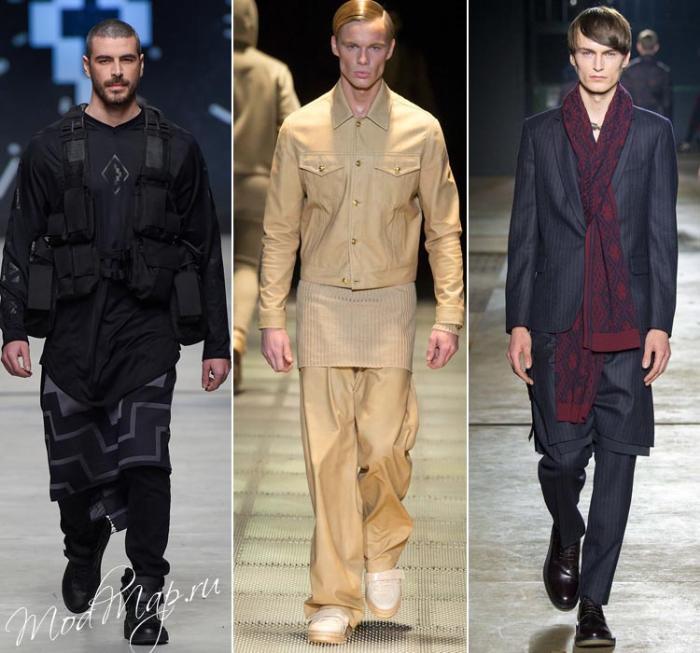 туника и пиджак
