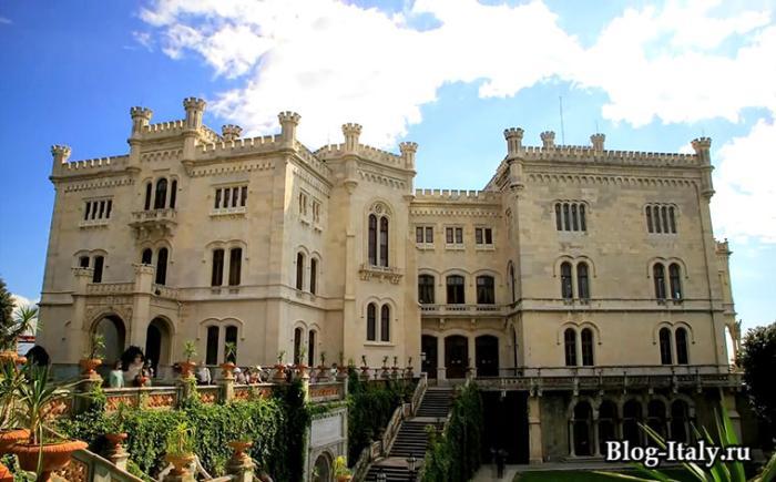 Замок Мирамаре Триест