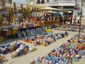 Шоппинг в Набеле Тунис