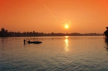 Закат в Негомбо, Шри-Ланка
