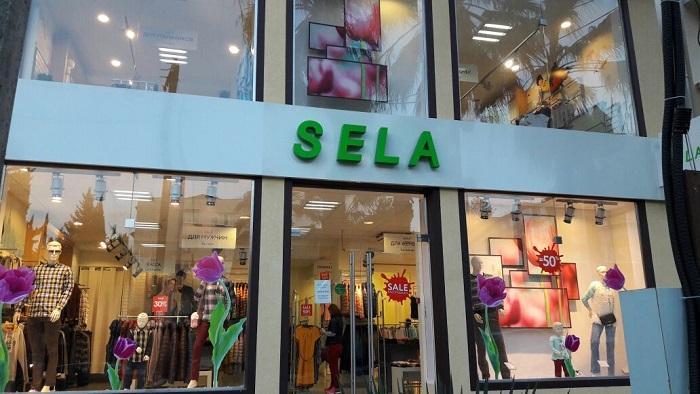 Магазин «Sela» в Лазаревском