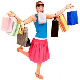 why girls love shopping