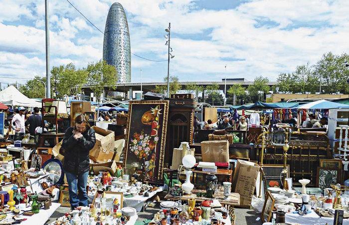 Рынки в Барселоне