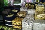 Рынок Чорсу - сувенирные тюбетейки