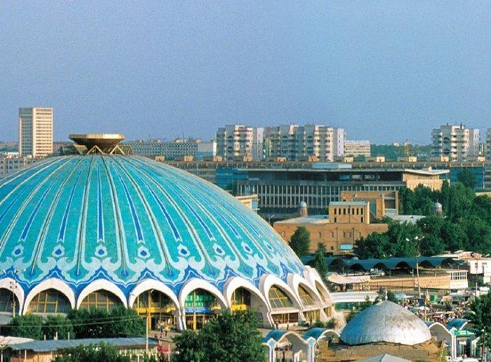 Главный рынок Ташкента - рынок Чорсу