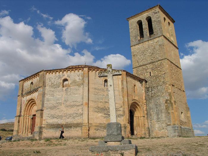 Церковь Ла-Вера-Крус в Сеговии