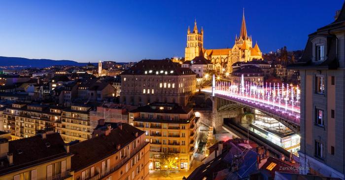 Lausanne-5 Лозанна (Lausanne), Швейцария - путеводитель по городу, достопримечательности Лозанны. Что посмотреть в Лозанне, как добраться - расписание, стоимость