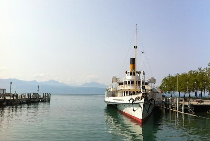 набережная Лозанны, Швейцария