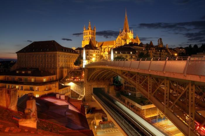 Lausanne-3 Лозанна (Lausanne), Швейцария - путеводитель по городу, достопримечательности Лозанны. Что посмотреть в Лозанне, как добраться - расписание, стоимость