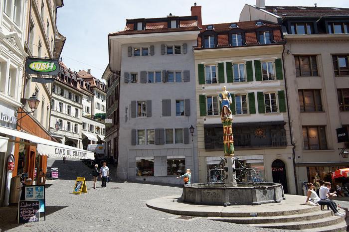 Лозанна (Lausanne), Швейцария - путеводитель по городу, достопримечательности Лозанны. Что посмотреть в Лозанне, как добраться - расписание, стоимость