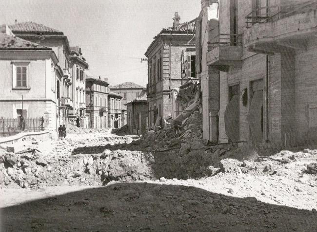 Пескара в 1943 году