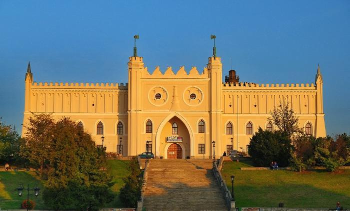 Фото старый замок Люблин