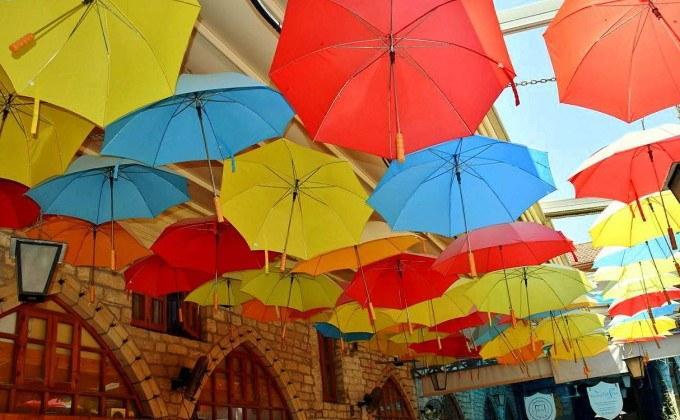 Кафе в центре Лимассола, Кипр