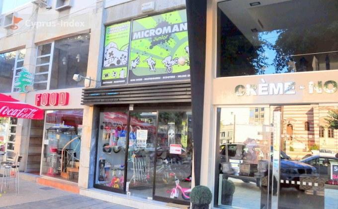 Магазины на улице Арх. Макариоса III, Лимассол центр города, Кипр