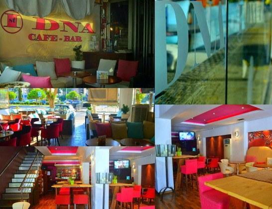 «DNA Cafe Bar», центр Лимассола, Кипр