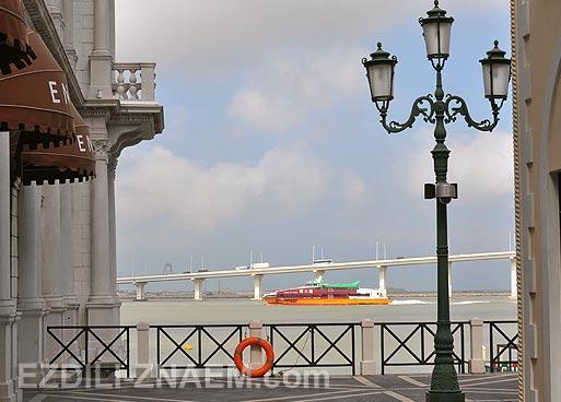 Отзыв о Макао. Фото с набережной