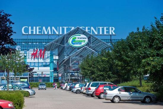 торговые центры Германии, шоппинг туры в Германии, Хемниц шоппинг