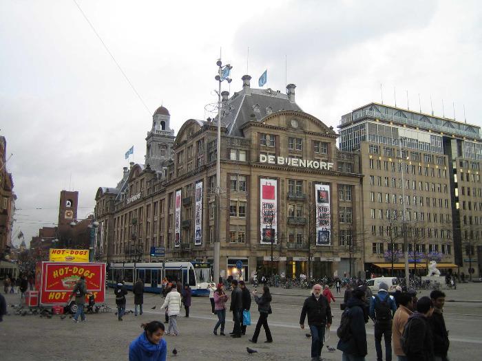 амстердам торговые центры