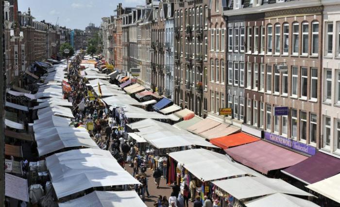 амстердам рынок