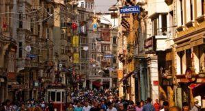 Istiklal Магазины на улице Истикляль Стамбул