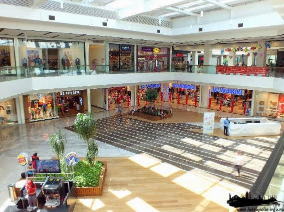 торговый центр Эраста в Фетхие в Турцию