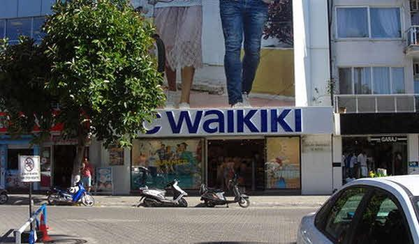 Фото одного из магазин Waikiki в Фетхие