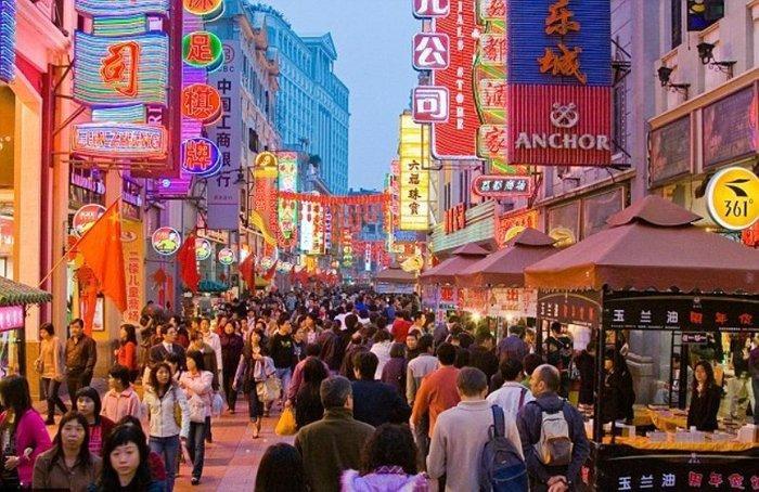 Торговые улицы Гуанчжоу
