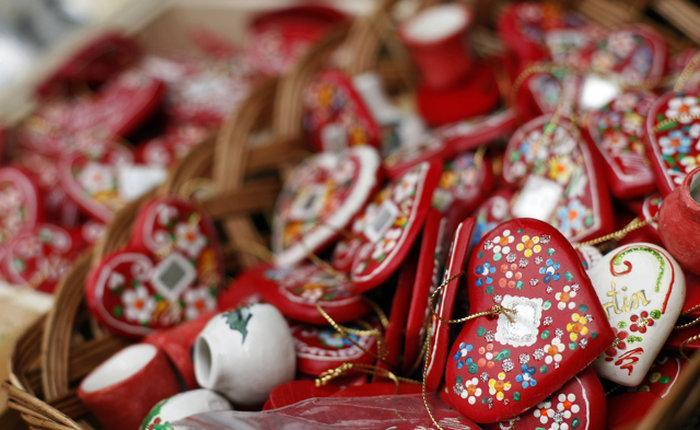 Сувенирные лавки в Загребе