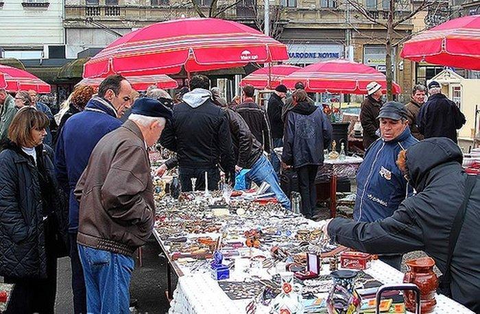 Блошиные и антикварные рынки Загреба