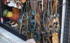 Сувениры Кипра - изделия из кожи