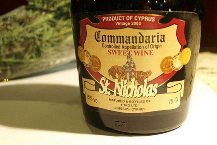 Спиртные напитки - Commandaria