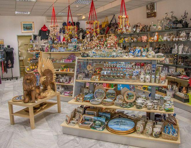 Магазин сувениров в Бледе
