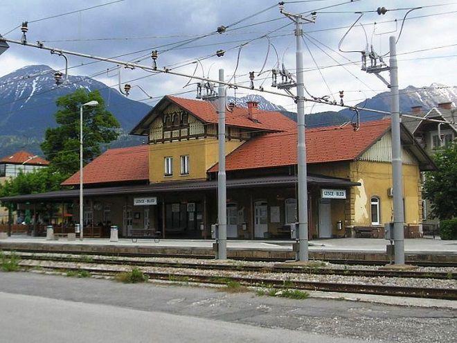 Жд станция Lesce-Bled