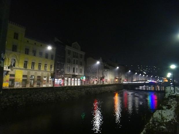 Вечерний Сараево немного тосклив