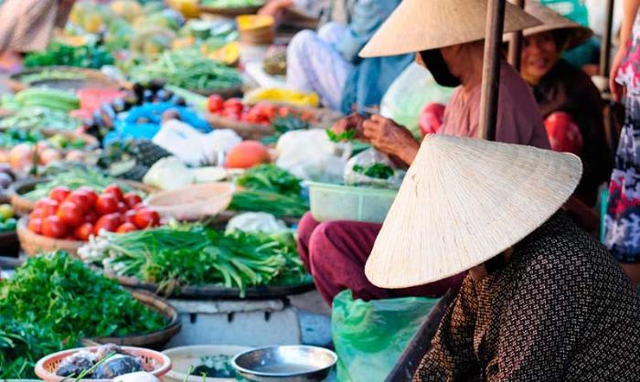Шоппинг в Муйне: рынок в городе Фантьет