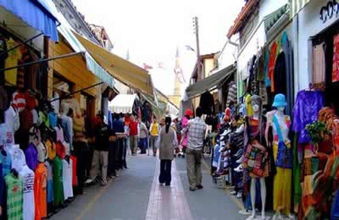 Кирения - шоппинг